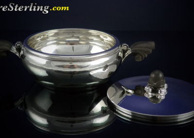 Georg Jensen Sterling Silver Covered Vegetable Dish