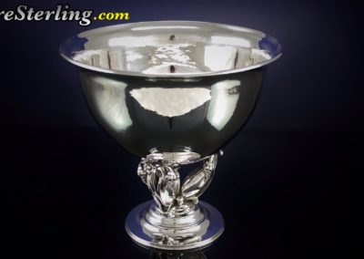 Georg Jensen Sterling Silver Footed Bowl
