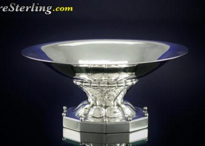 Georg Jensen Sterling Silver Master Open Salt Dish