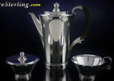 Georg Jensen Sterling Silver Tea Set