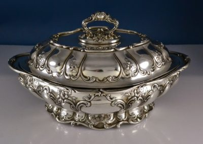 Gorham Sterling Silver Chantilly Grand Covered Tureen