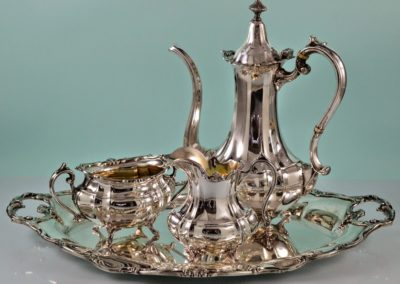 Gorham Sterling Silver Demitasse Tea Set