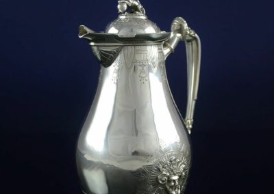 Gorham Sterling Silver Sphinx Surup Pitcher