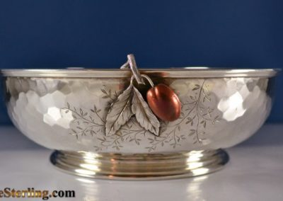 Gorham Whiting Sterling Silver Mixed Metal Bowl