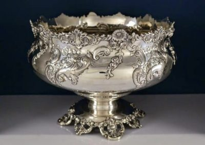 Gorham Whiting Sterling Silver Punch Bowl