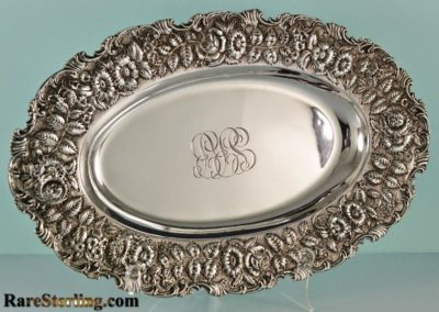 Kirk And Son Sterling Silver Repousse Tray