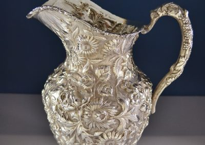 Kirk And Son Stieff Sterling Silver Repousse Water Pitcher