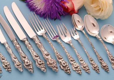 Reed And Barton Sterling Silver Les Six Fleurs