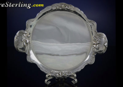 Reed And Barton Sterling Silver Martele Tray