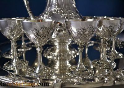 Reed And Barton Sterling Silver Martini Cups