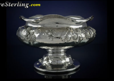 Reed and Barton sterling silver Martele bowl