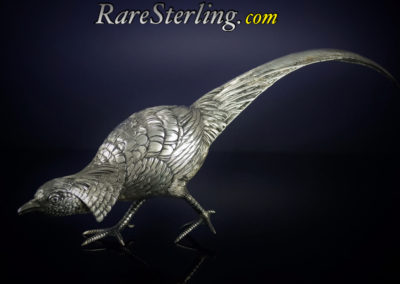 Sterling Silver 800 Danish Pheasant