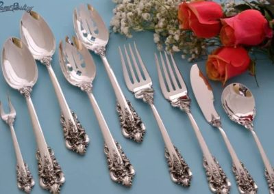 Wallace Sterling Silver Grande Baroque Serving Pieces