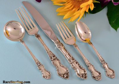 Wallace Sterling Silver Meadow Rose