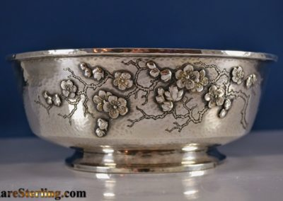 Whiting Sterling Silver Aesthetic Flower Bowl