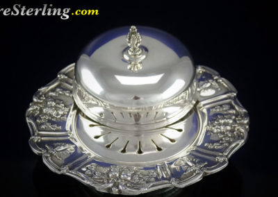 Reed and Barton Francis Sterling Silver Butter Dome Dish