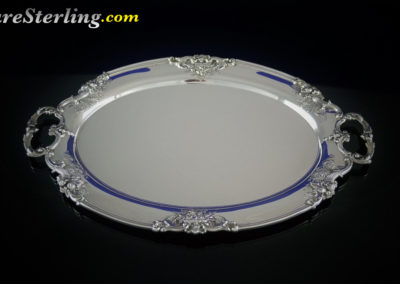 Reed and Barton Francis Sterling Silver Demitasse Coffee Tray