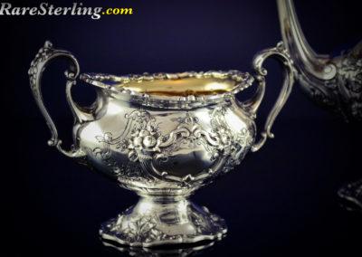 Reed and Barton Francis Sterling Silver Demitasse Sugar Bowl