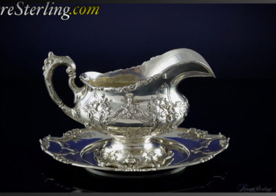 Reed and Barton Francis Sterling Silver Gravy Boat