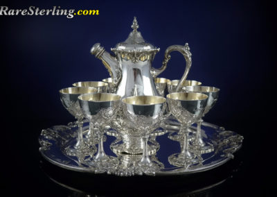 Reed and Barton Francis Sterling Silver Martini Set Small