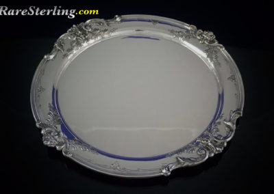 Reed and Barton Francis Sterling Silver Martini Tray