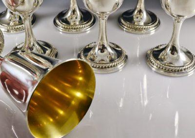 Gorham Sterling Silver Water Goblets