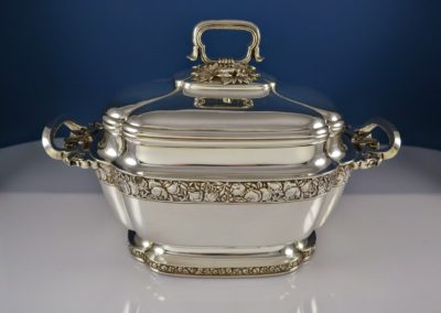 Tiffany Pomegranate Tureen Sterling Silver