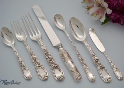Tiffany Sterling Silver Chrysanthemum Flatware