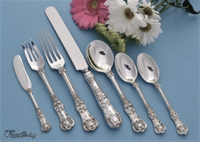 Tiffany Sterling Silver English Kings Flatware