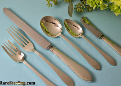 Tiffany Sterling Silver Faneuil Flatware